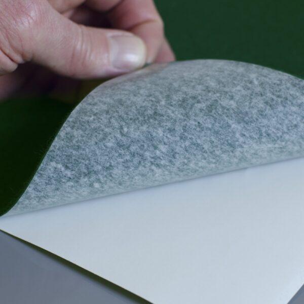 Self Adhesive Green Baize Sheet