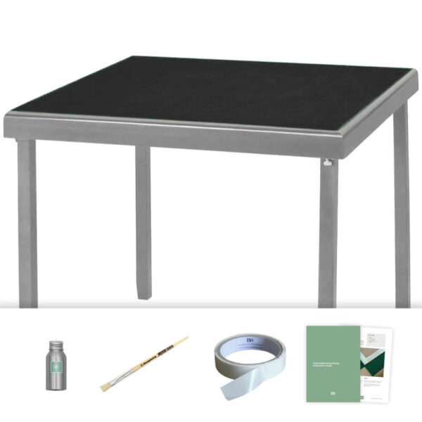 black baize card table recovering kit
