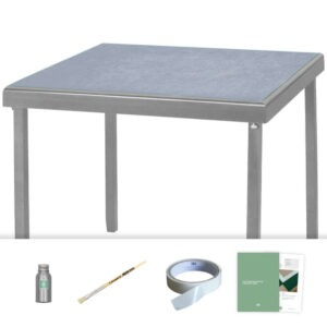 pewter grey baize card table recovering kit