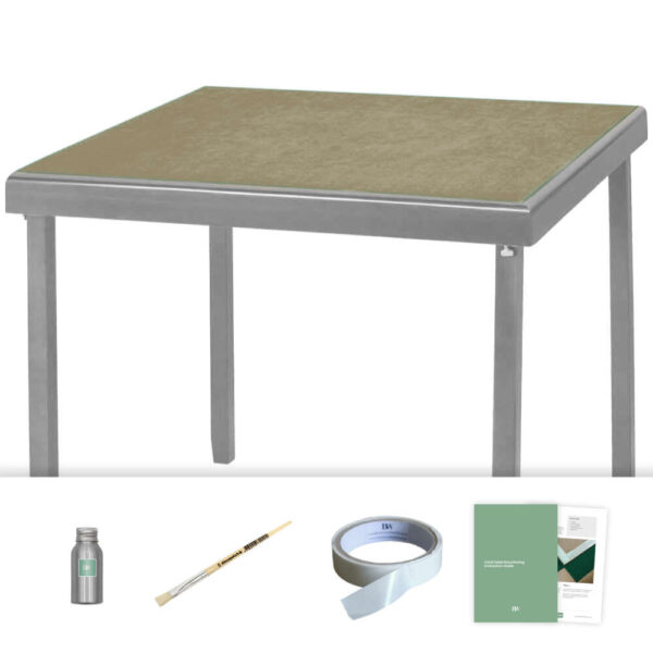 sand baize card table recovering kit
