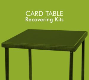 playing card table recovering kits