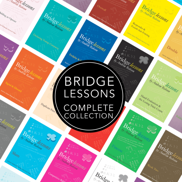 andrew robson bridge lessons complete collection