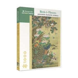 Birds and Flowers Japanese Hanging Scroll 1000 piece puzzle