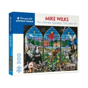 Mike Wilks The Letter W 500 piece jigsaw puzzle