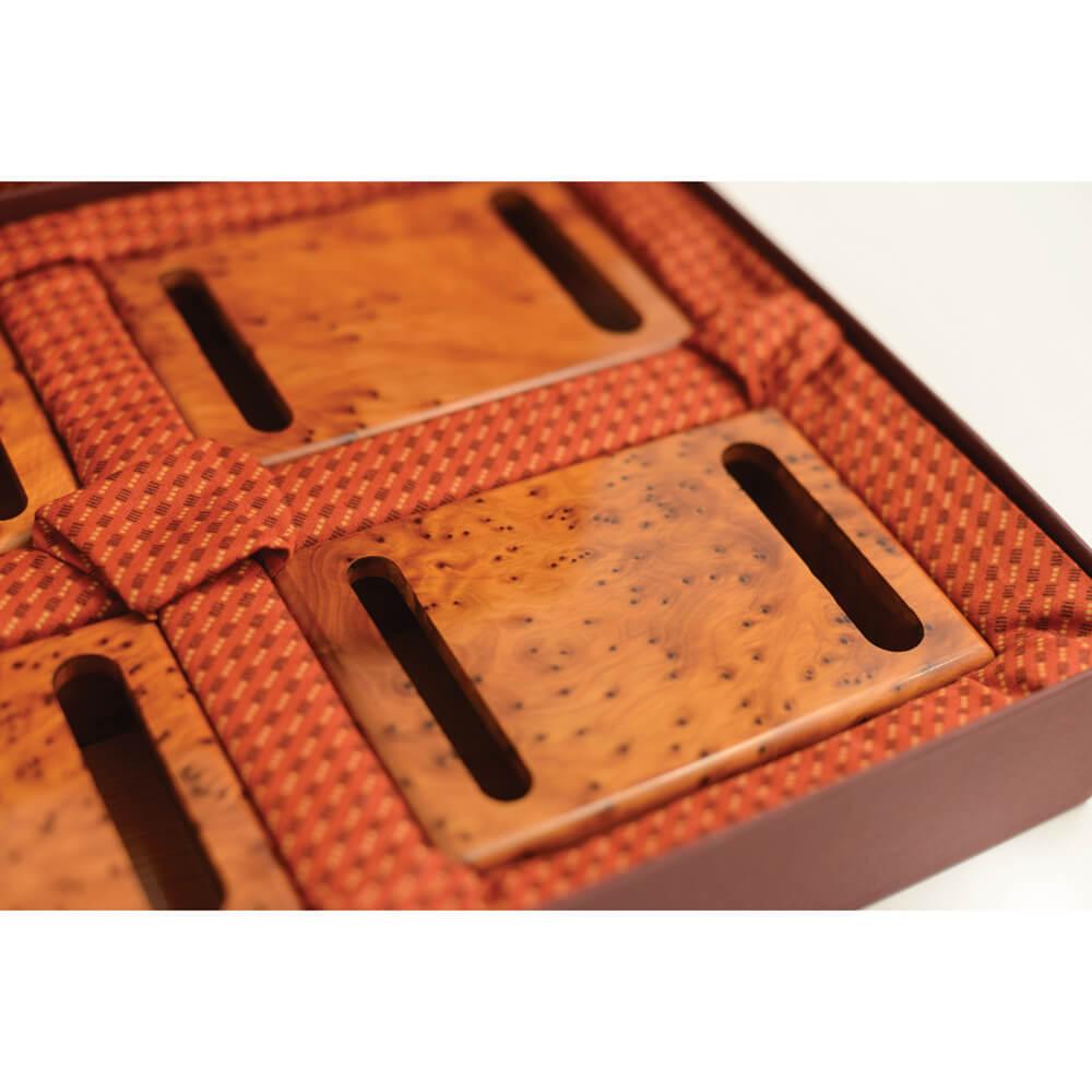 Luxury Thuya Wood Boxes for Bidding