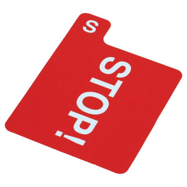 Jannersten Replacement Bidding Card - Stop