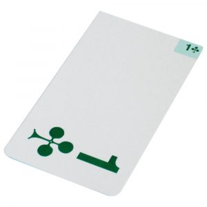 Jannersten Replacement Bidding Card - 1 Club