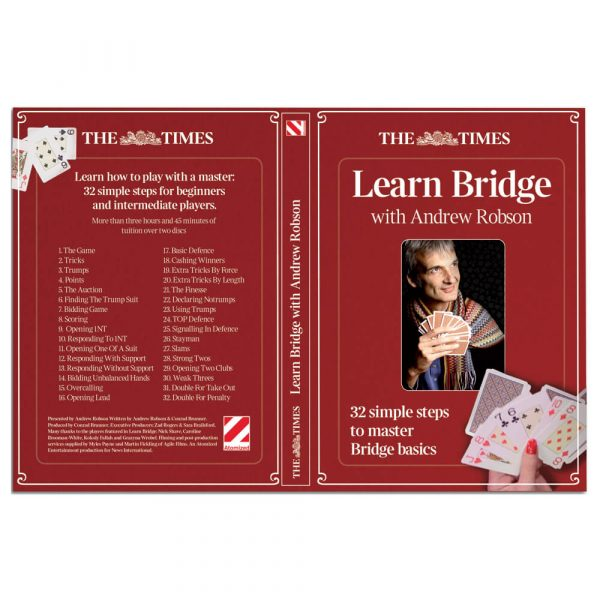 Learn Bridge with Andrew Robson (DVD)