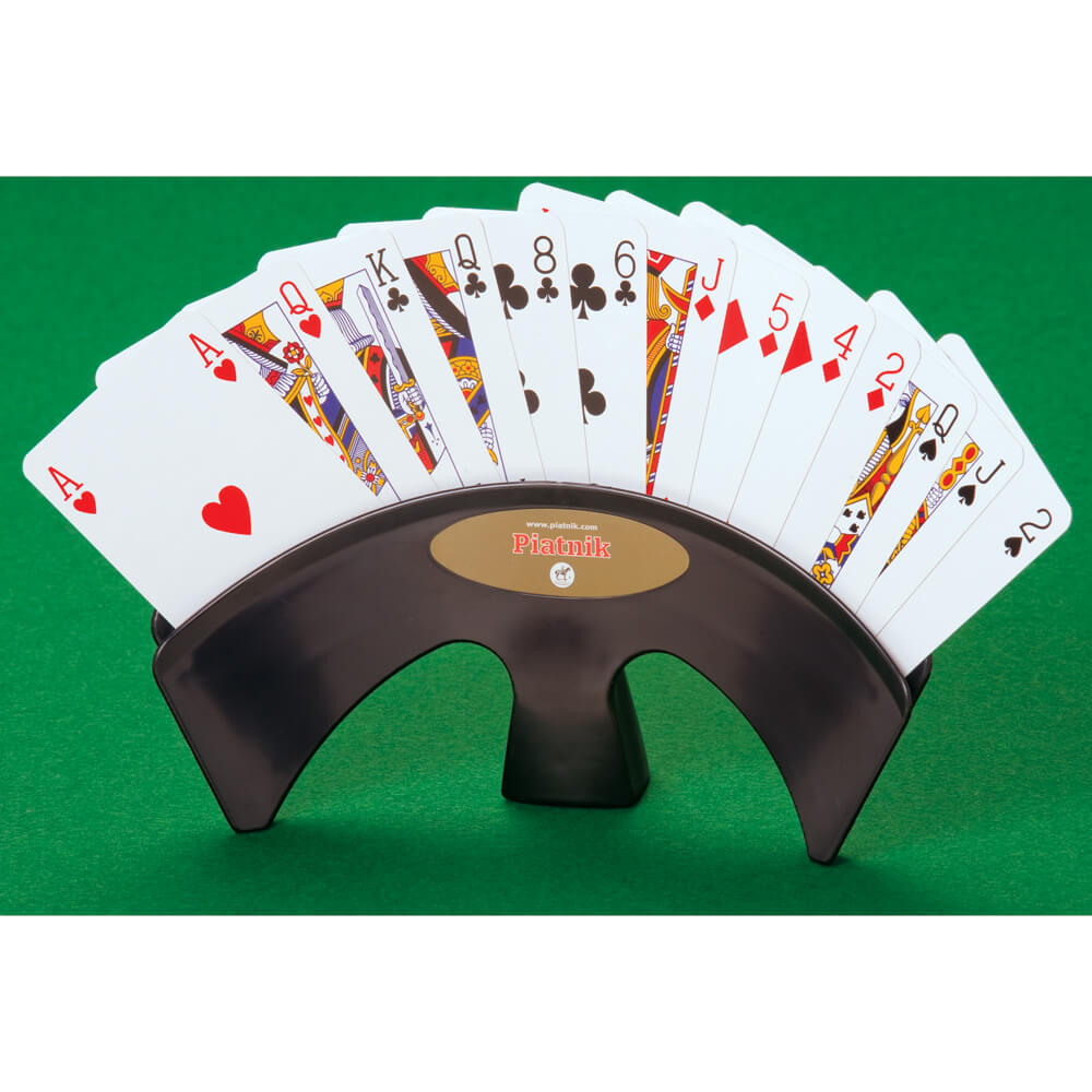 Deluxe Table Card Holder   Black