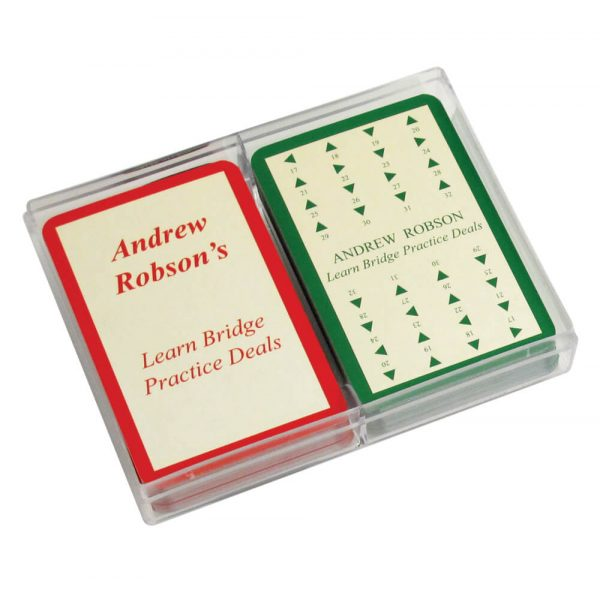 Need to know? Bridge Practice Deals and Arrow Cards by Andrew Robson