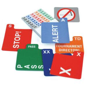 Jannersten Replacement Bidding Cards - Left Handed