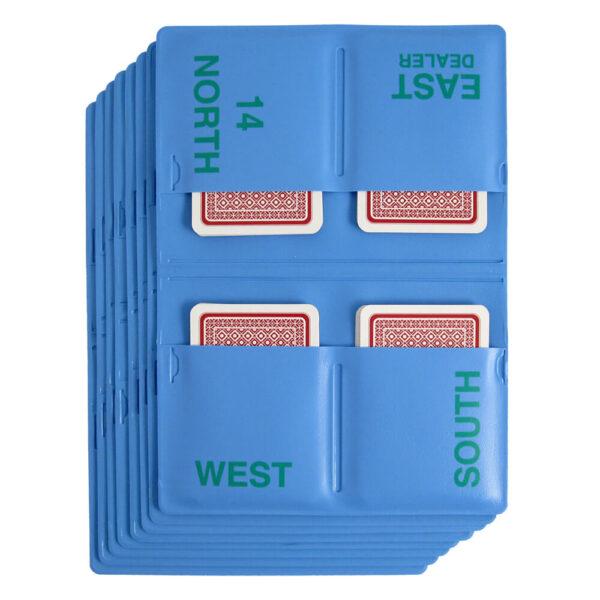 Jannersten 3-Ply Duplicate Wallets - Blue