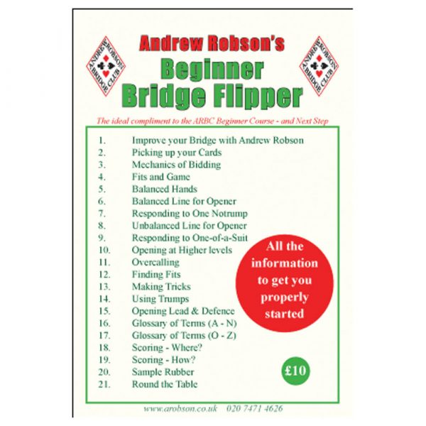 Beginner Bridge Flipper by Andrew Robson