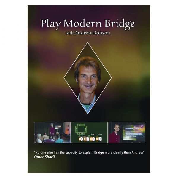 Play Modern Bridge with Andrew Robson (DVD)