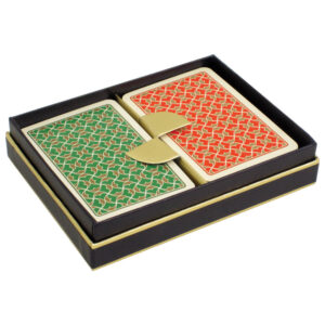 Playing Cards - Helios - Red/Green