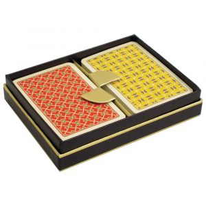 Playing Cards - Helios - Red/Yellow