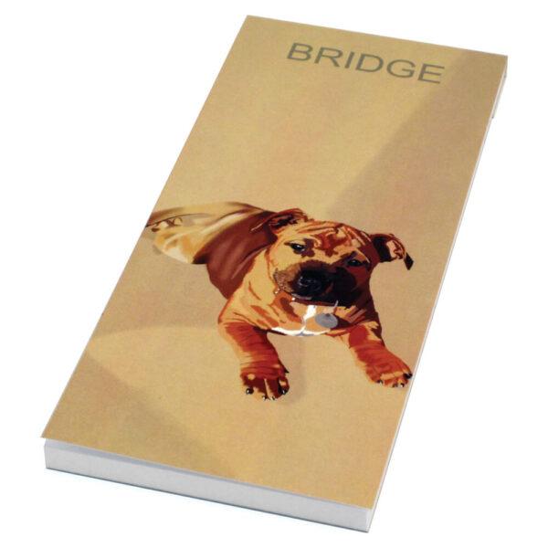 Simon Lucas Bridge Score Pad - Freddie