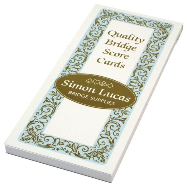 Simon Lucas Rubber Bridge Score Pad - Emporium
