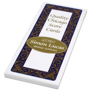 Simon Lucas Chicago Bridge Score Pad - Emporium
