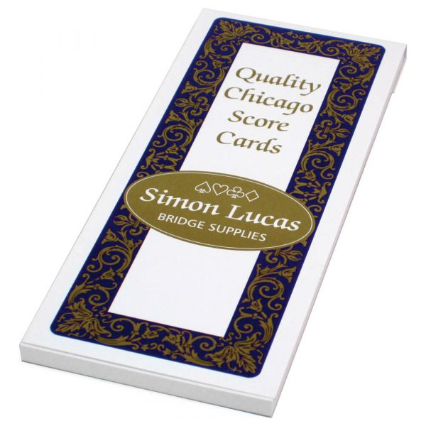 Simon Lucas Chicago Bridge Score Pad - Emporium