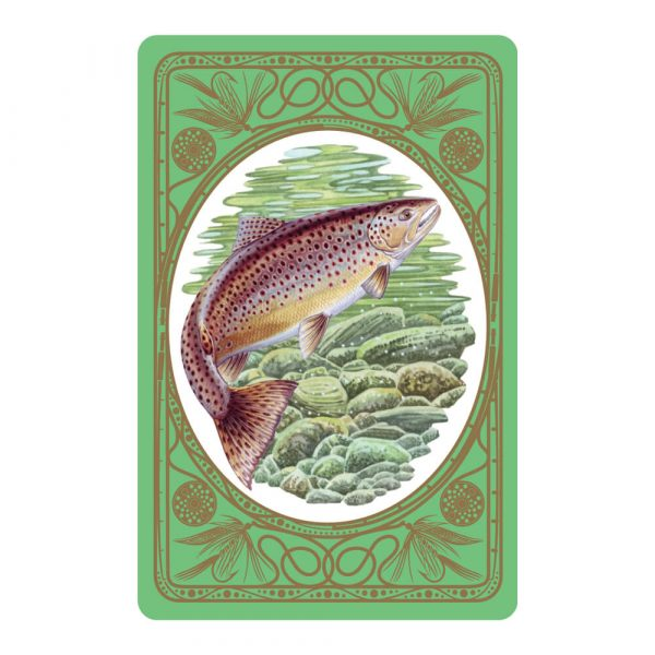 Brown Trout Premium Quality Playing Cards