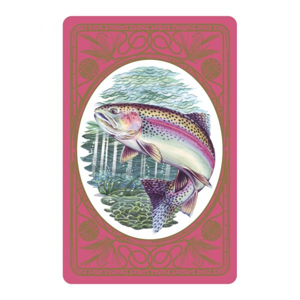 Rainbow Trout Premium Quality Playing Cards