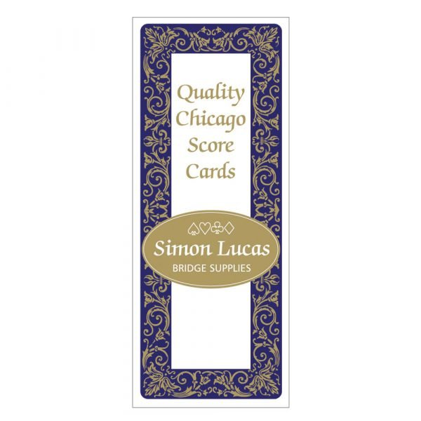 Simon Lucas Score Pad with Decorative Cover - Chicago Bridge