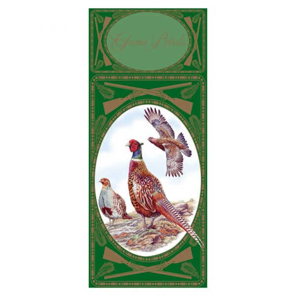 Simon Lucas Score Pad - Game Birds