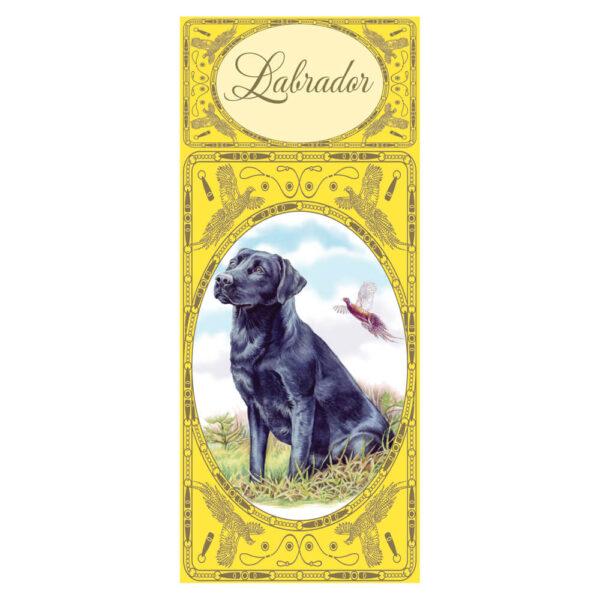 Simon Lucas Score Pad - Black Labrador