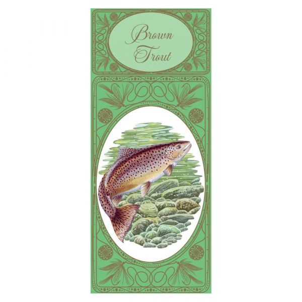 Simon Lucas Score Pad - Brown Trout